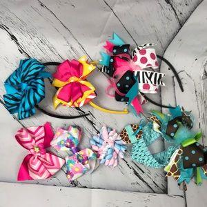Girls Headband bow bundle